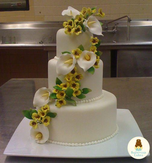 Buttercup Cakes - Wedding Cake - Lakeland, FL - WeddingWire