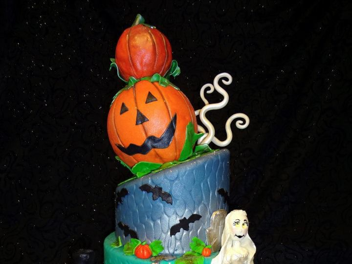 Tmx 1393713522240 Hallowee Lakeland wedding cake