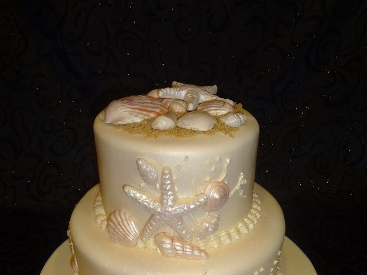Tmx 1393713597739 Seashells2tie Lakeland wedding cake