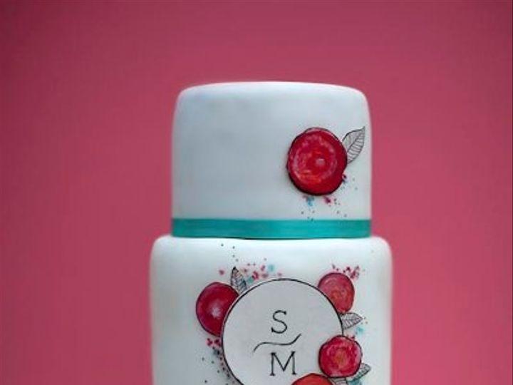 Tmx 1316828900244 Roses2 Hamden wedding cake