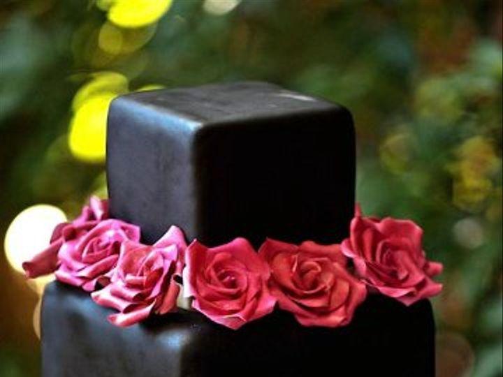 Tmx 1316828909120 Weddingchicksblack Hamden wedding cake