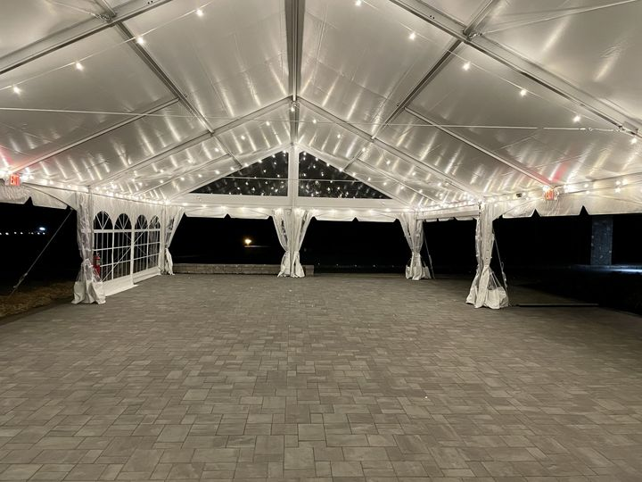 Outdoor Event Tent and Patio