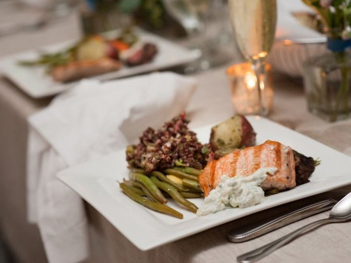 Tmx Lcc Salmon And Green Beans 51 634468 Waldoboro, ME wedding catering