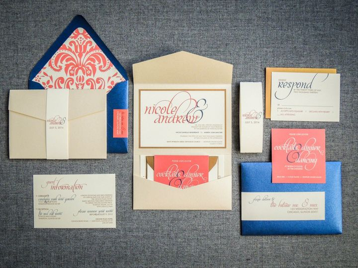 chicago invitations julie hanan design invitations chicago il weddingwire
