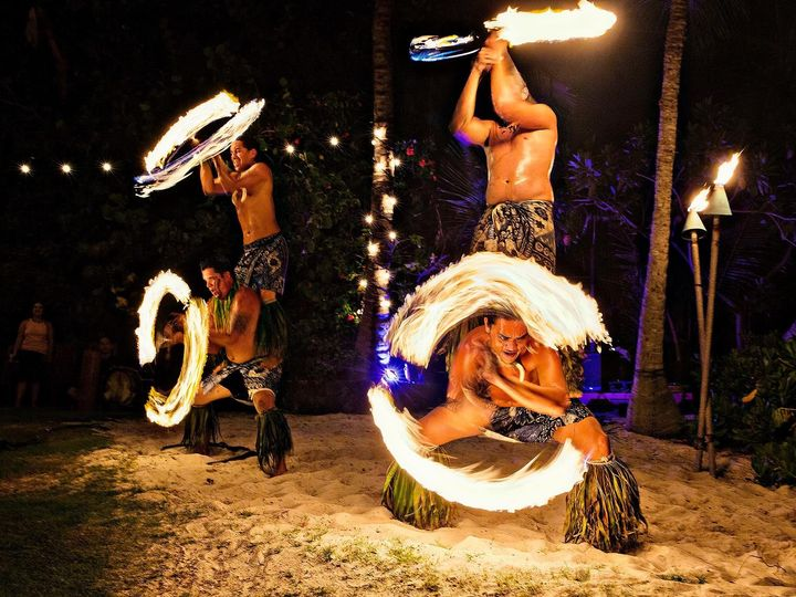 Tmx 4 Man Fire Knife Fletch Photography 51 474468 1556119926 Kailua Kona wedding ceremonymusic