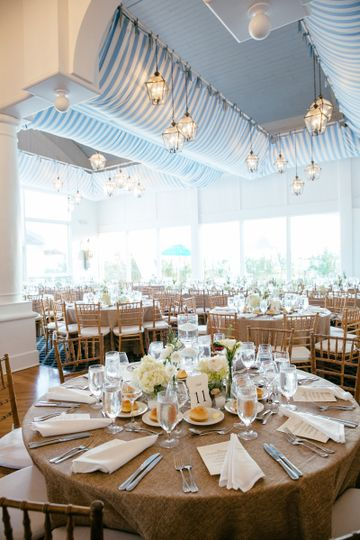 Oceanbleu at westhampton bath and tennis venue for Beach weddings in ny