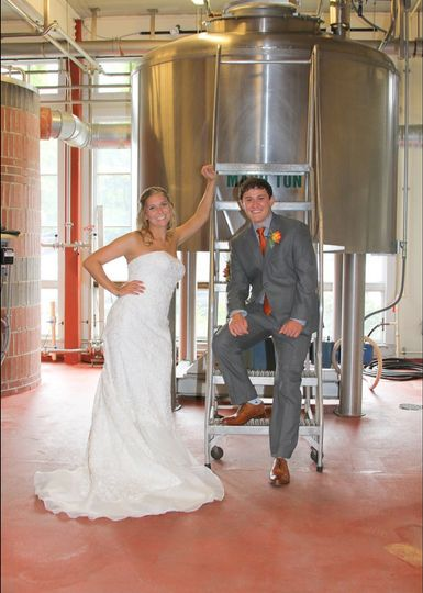 Love is in the brewery