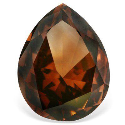 Tmx 1343990659271 PearShapedRedDiamond Rutherford wedding jewelry