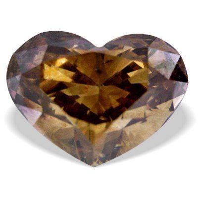 Tmx 1343990699582 HeartShapeHighClarityChampagneDiamond Rutherford wedding jewelry