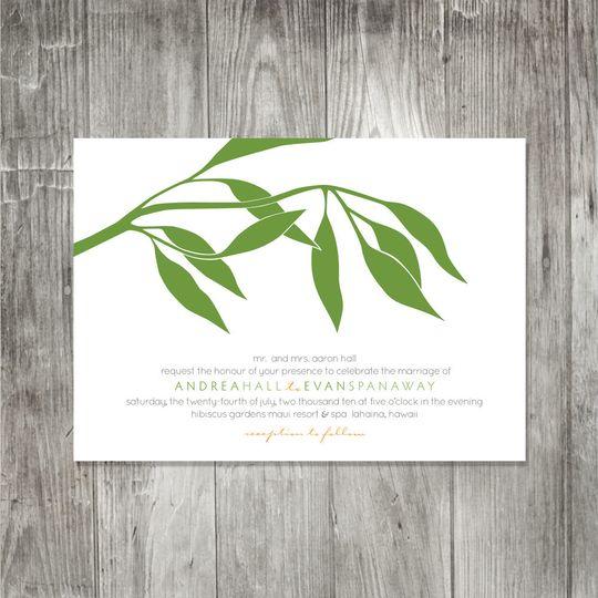eucalyptusbranchinvitation