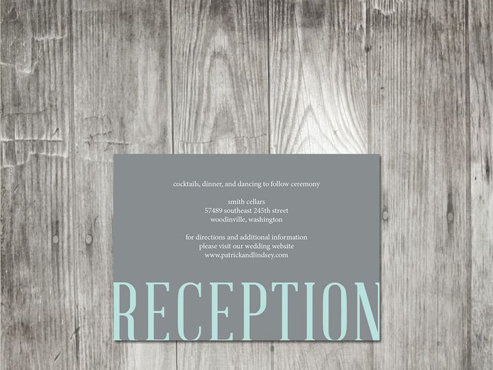 Tmx 1416342959122 Ampersandmonogramweddinginsert Portland wedding invitation