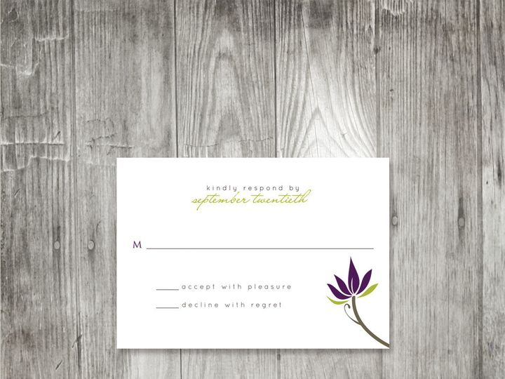 Tmx 1416343281645 Floralbranchweddingresponse Portland wedding invitation