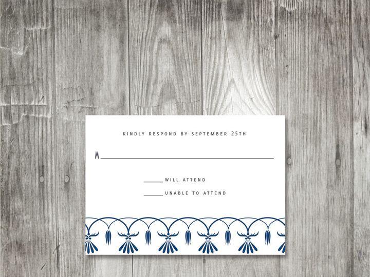 Tmx 1416343693278 Ornatescrollweddingresponse Portland wedding invitation