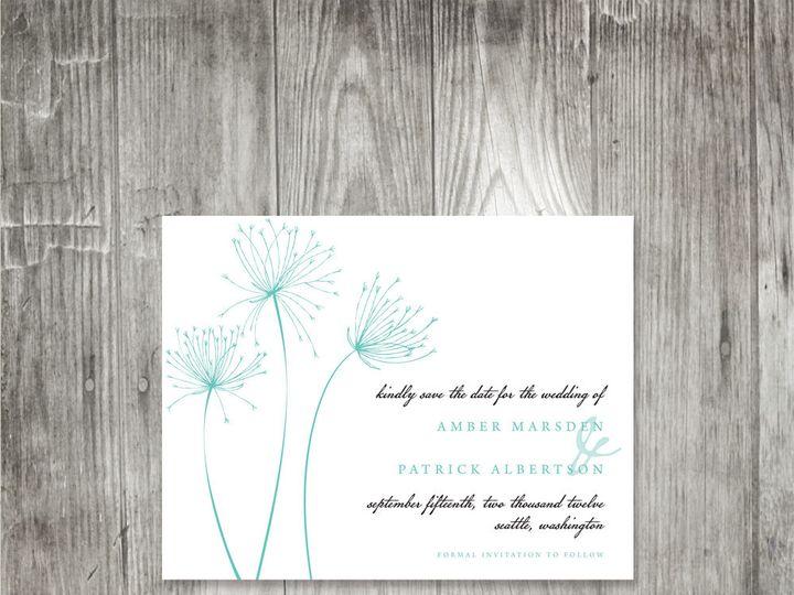 Tmx 1416343720299 Papyrussavethedate Portland wedding invitation