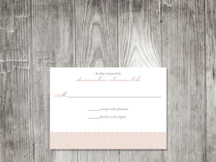 Tmx 1416343815147 Peonydelicateweddingresponse Portland wedding invitation