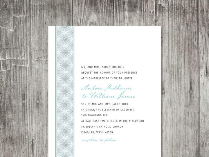 Tmx 1416344009211 Snowflakestripeweddinginvitation Portland wedding invitation