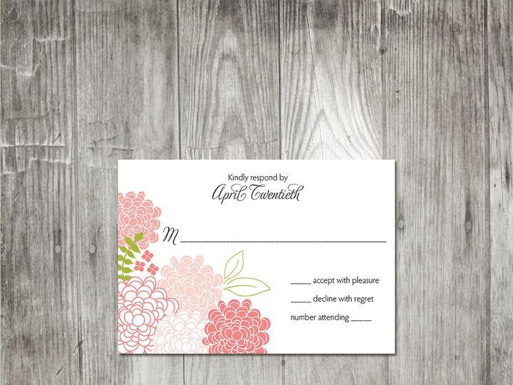 Tmx 1416344051536 Springblossomsweddingresponse Portland wedding invitation
