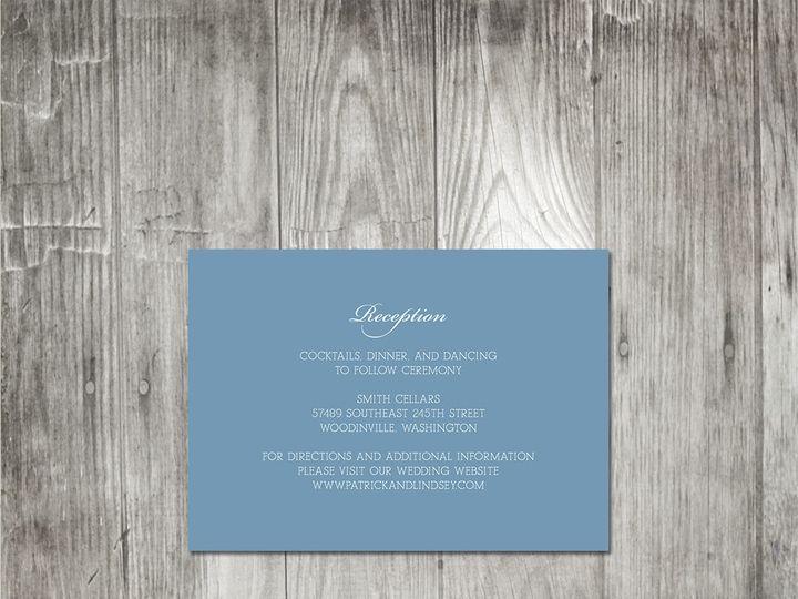 Tmx 1416344060532 Starfishmonogramweddinginsert Portland wedding invitation
