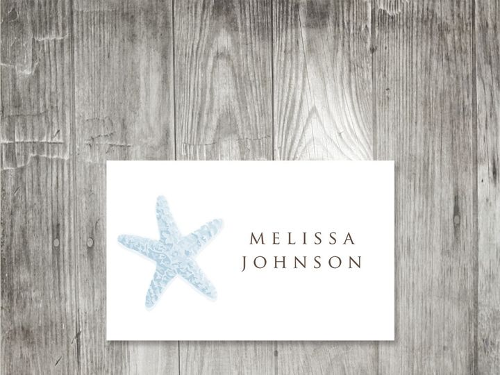 Tmx 1416344092819 Starfishplacecard1 Portland wedding invitation