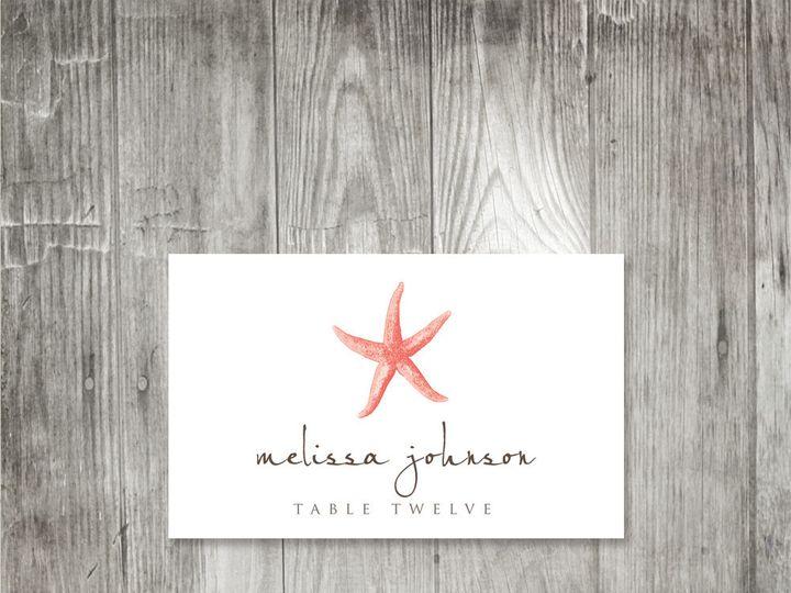 Tmx 1416344107285 Starfishplacecard2 Portland wedding invitation