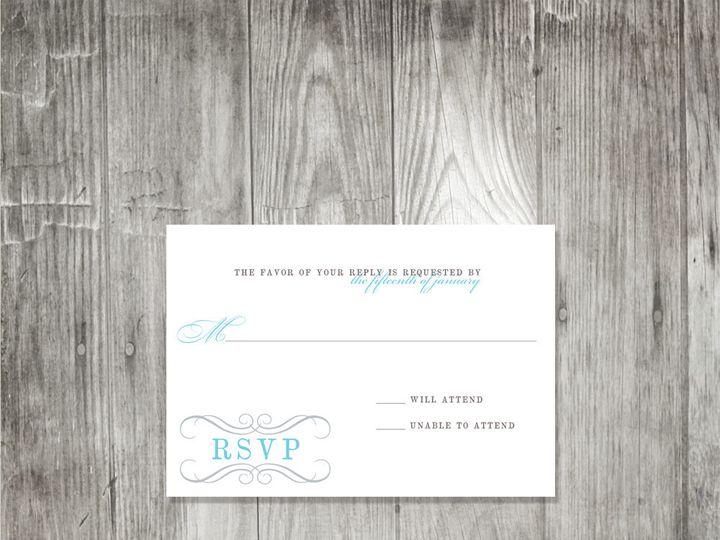 Tmx 1416344329407 Swirlmonogramweddingresponse Portland wedding invitation