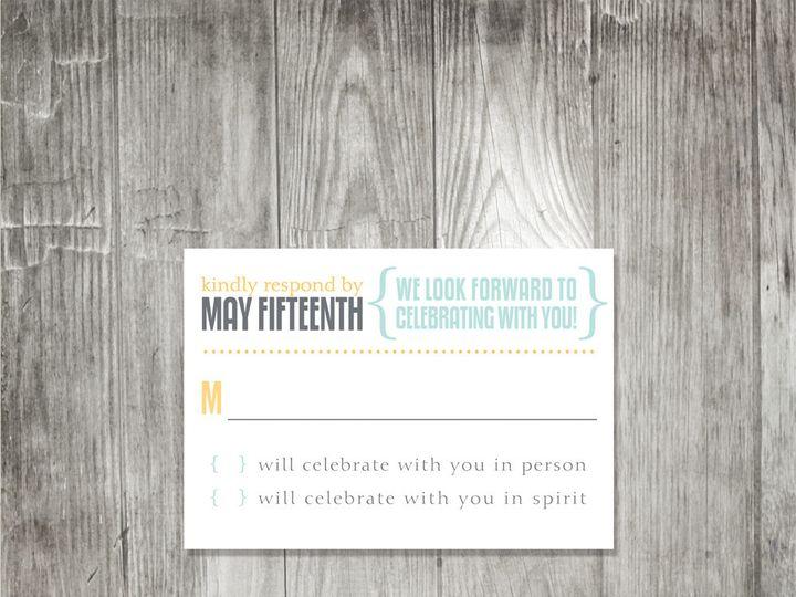 Tmx 1416347565403 Moderncelebrationweddingresponse Portland wedding invitation