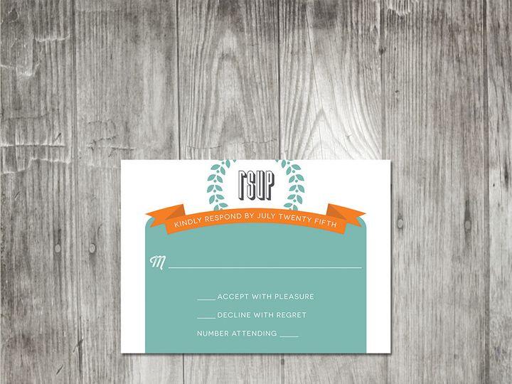 Tmx 1416347597865 Moderntypographyweddingresponse Portland wedding invitation