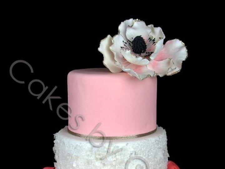 Tmx 1328396465096 Coralpuffswatermark Raleigh, NC wedding cake