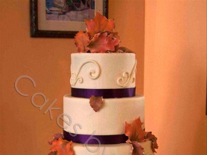 Tmx 1328396529995 JenAllenwatermark Raleigh, NC wedding cake