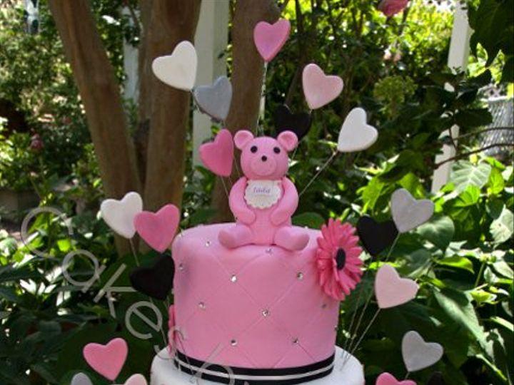 Tmx 1328398725158 JuicyCouturebabywatermark Raleigh, NC wedding cake