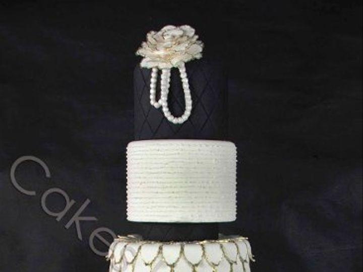 Tmx 1328469764473 Chanel2watermarkcopy Raleigh, NC wedding cake
