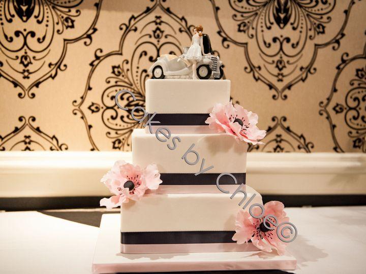 Tmx 1390241437092 Theresawatermar Raleigh, NC wedding cake