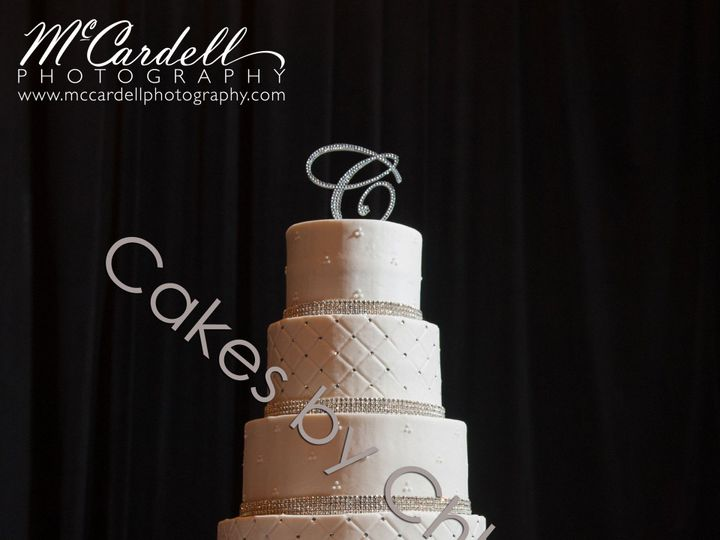 Tmx 1421080246517 Candiewatermark Raleigh, NC wedding cake