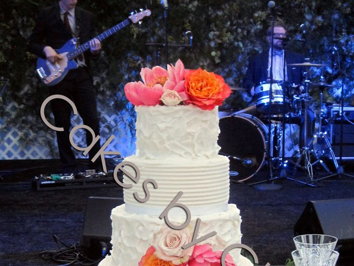 Tmx 1421080515589 Claire1watermark Raleigh, NC wedding cake