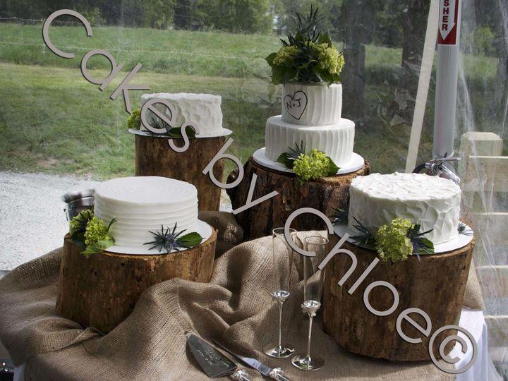 Tmx 1421080577652 Jillianwatermark Raleigh, NC wedding cake