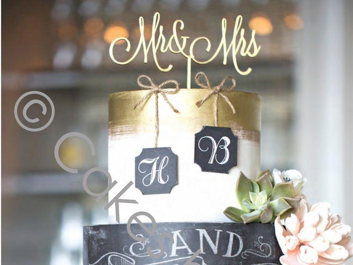 Tmx 1489600007304 Chalkboardwm Raleigh, NC wedding cake