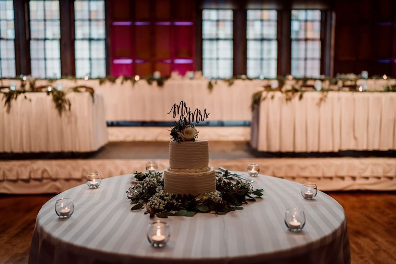 South Ballroom Cake Table