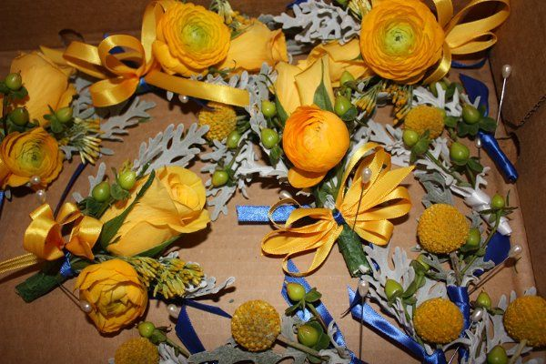 Corsages and boutonnierres