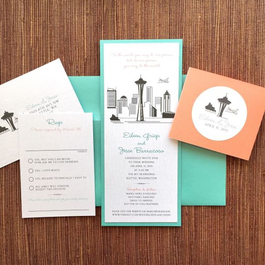 Papercake designs invitations san francisco bay area ca 800x800 1429073702495 img0365 stopboris Gallery