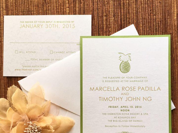 Tmx 1429073668158 Img0297 South Lake Tahoe, CA wedding invitation