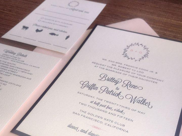 Tmx 1429117847793 Brittnycu South Lake Tahoe, CA wedding invitation