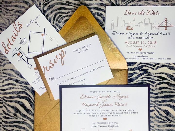 Tmx San Francisco Deanna Invites 51 568 V1 South Lake Tahoe, CA wedding invitation