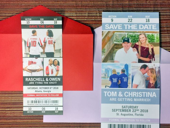 Tmx Std Sport Ticket Lgmed18 51 568 V1 South Lake Tahoe, CA wedding invitation