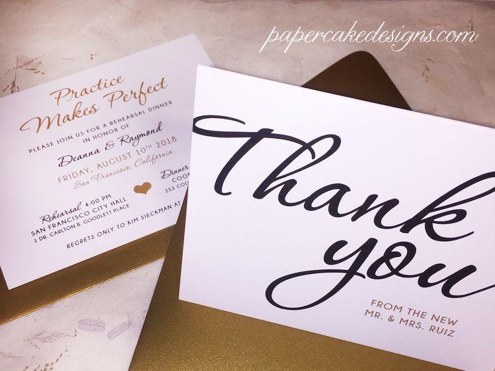 Tmx Thank You Wedding Card 51 568 South Lake Tahoe, CA wedding invitation