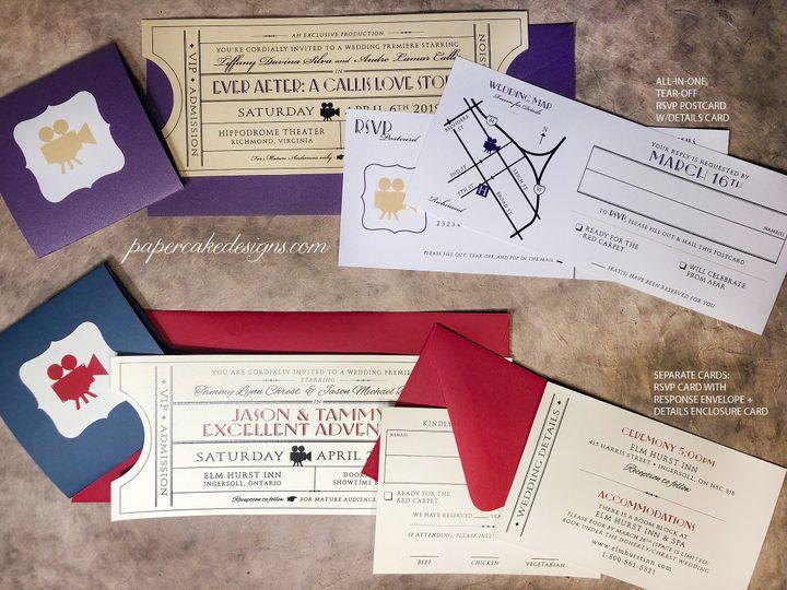 Tmx Vintagesuite Options19 51 568 V1 South Lake Tahoe, CA wedding invitation