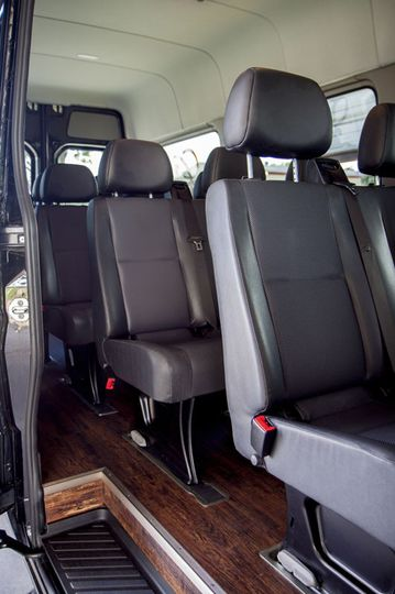14 Passenger Mercedes Sprinter - Interior