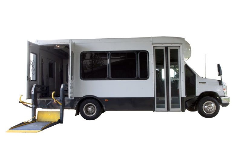 12 Passenger ADA Wheel Chair Accessible Mini Bus