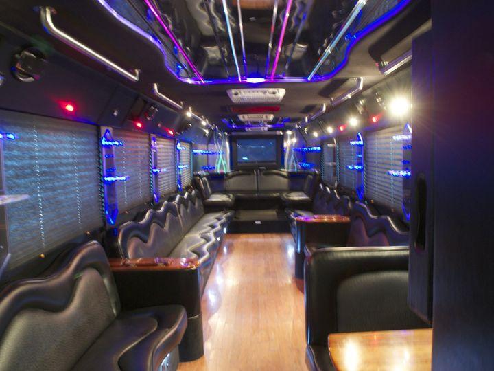 Tmx 1422315496198 40 Pax Party Bus Inside W Lights Houston, TX wedding transportation