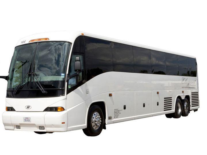 Tmx 1435779583328 Elegant   Motorcoach Houston, TX wedding transportation