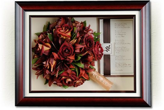 Preserved fall theme bouquet